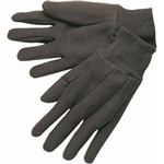 MCR Safety 7100 Memphis Cotton Jersey Gloves, Clute Pattern, Knit Wrists, Cotton/Poly, Large