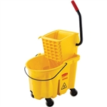 Rubbermaid 748018YL Rubbermaid WaveBrake Mopping System, 26 qt