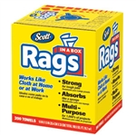 Kimberly Clark 75260 Scott Rags In A Box, 8 Boxes/200 ea