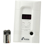 Kidde 9000100 Premium Plus CO Alarm w/ 3-Way Plug & Battery Backup