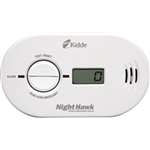 Kidde 900023 Nighthawk CO Alarm, Battery Operated w/ Digital Display
