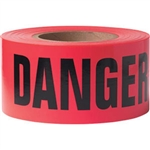 "Presco B31022R21 ""DANGER"", Red, 8/Case"