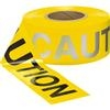 "Presco B3102Y16 ""CAUTION"", Yellow, 8/Case"