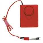 Brooks CAR Cabinet Alarm, Red