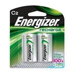 Energizer NH35BP2 Recharge C Batteries (2/Pkg)