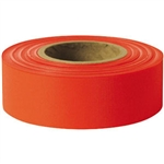 "Presco TFR Standard, Taffeta, 1 3/16"" x 300', Red, 12/Case"