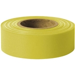 "Presco TFY Standard, Taffeta, 1 3/16"" x 300', Yellow, 12/Case"