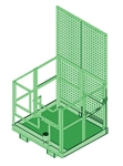Capital Safety 8510568 Forklift Basket Davit Base