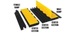 Checkers YJ3-225-AMS-F-B Each Cable Protector Yellow Jacket Ams Ramp, Female (Black)