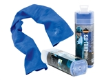 Ergodyne 12418 Chill-Its 6603 Evaporative Cooling Band, Blue - 1/Each