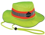 Ergodyne 12591 Chill-Its 8935CT Evap. Class Headwear Hi-Vis Ranger Hat w/CT, L/XL, Lime - 1/Each