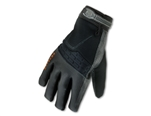 Ergodyne 17324 ProFlex 9002 Certified Anti-Vibration Gloves, Large, Black - 1/Pair