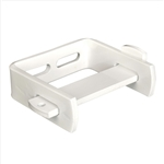 Ex-Cell 200S WHITE Single Roll Toilet Tissue Dispenser, Steel, White