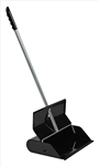 Ex-Cell 304 BLACK Self-closing Dustpan, Steel, Black Gloss