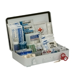 First Aid Only 90567 50 Person First Aid Kit, ANSI B, Metal Case