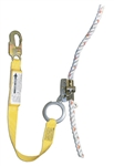 French Creek 1202An-3 1201N With 3' Shock Absorbing Web Lanyard Attached, Locking Snap Hook On End