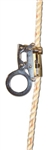 "French Creek 1311 Steel Trailing Rope Grab For 5/8"" 3 Strand Synthetic Rope (Must Only Be Used With Shock Absorbing Lanyard)"