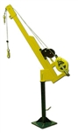 French Creek FCPD300 Complete Davit System, Permanent Mount Base, Riser Post, Boom, R50G & MW50G