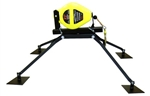 French Creek Rmrl50G Roof Mount Anchor For Retractable Lifeline, Rotates 360 DegreesComes With Mounting Hardware