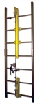French Creek VL-38-110 - 110 Foot Length 4 Guides Flexible Vertical Cable Climbing System