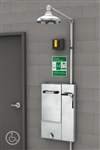 Guardian GBF2173 Barrier-Free Recessed Safety Station