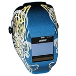Jackson Safety 46100 Insight Digital Variable ADF Welding Helmet - Halo X Gold Wings