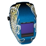 Jackson Safety 46111 TrueSight II Digital Variable ADF Welding Helmet - Halo X Gold Wings - With Balder Technology