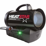 "Heat Star HS35CLP 35000 BTU CORDLESS ""PROPANE"" Portable Heater"