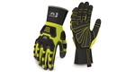 Pyramex GL802CRX2 Gloves, Ultra Impact Series - Max Duty - Cut Resistant, 2X Large, 1 Pair