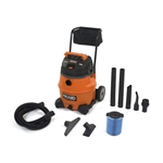 Ridgid 31693 WD1851 16 Gallon Wet/Dry Vac With Cart