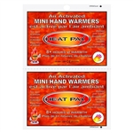 "TechNiche 5552 Air Activated Hand Warmers, 2"" x 3.5"" - Box of 240 Pairs"