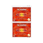 "TechNiche 5571 Air Activated Toe Warmers, 2.75"" X 4"" - Box of 40 Pairs"
