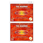 TechNiche 5572 Air Activated Toe Warmers, 2.75 X 4 - Box of 240 Pairs