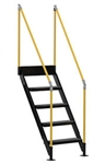 Vestil MP-S-2 Modular Work Platform - 2 Stair Section