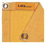 Weldas 50-3066 LAVAshield 30 oz. 6' X 6' Gold, Fiberglass Blanket