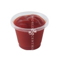 World Centric 1 oz Clear Souffle Cup - 110F 3000 Per Case