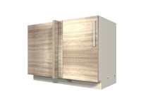 1 door blind corner base cabinet (BLIND ON LEFT)