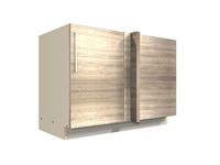 1 door blind corner base cabinet (BLIND ON RIGHT)
