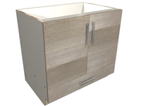 2 door and 1 bottom drawer SINK base cabinet