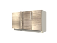 2 door blind corner base cabinet (BLIND ON LEFT)