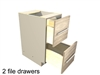 File drawer base cabinet (2 equal height file drawers)