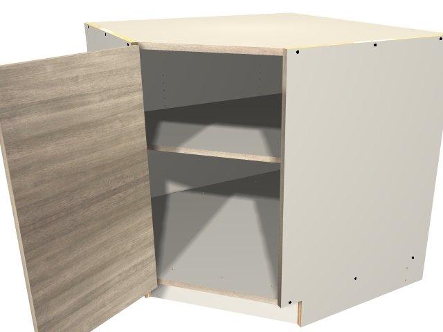 1 Door 45 Degree Base Corner Cabinet