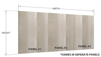 Finished island bar back panel (MULTIPLE PANELS, VERTICAL grain)