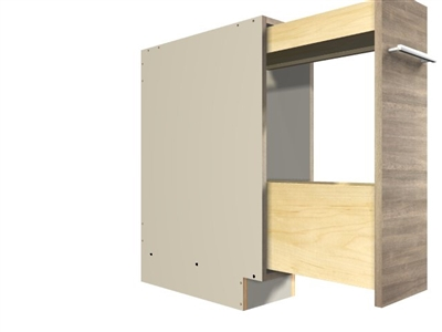 Pullout Rack (short storage on top with larger below)
