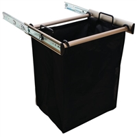 "18"" wide pullout hamper (pullout unit only, does not include a cabinet case)"