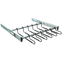 "18"" wide pullout pants rack 12 hangers (pullout unit only, does not include a cabinet case)"