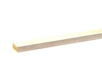 Square trim molding (HORIZONTAL grain)