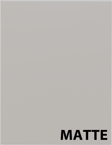 MATTE light grey sample cabinet door