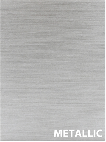 METALLIC brushed sample cabinet door (laminate)