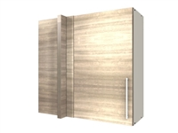 1 door blind corner WALL cabinet (BLIND ON LEFT)